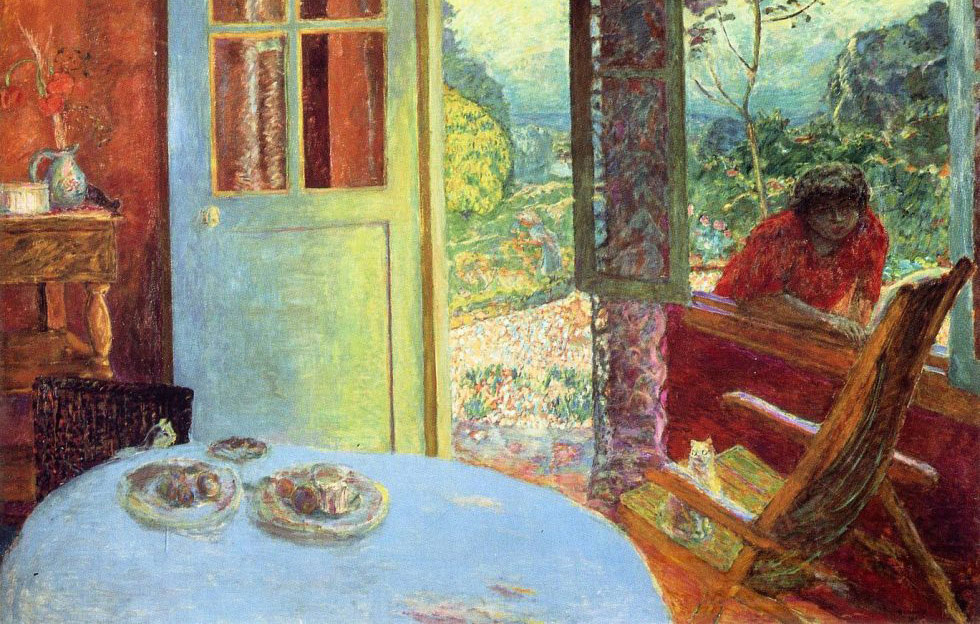 Dining Room in the Country by Pierre Bonnard 1913