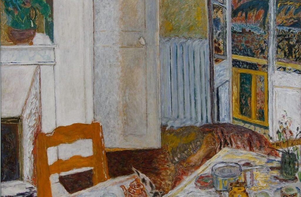 EAT MY MEMOIR.COM - Intérieur Blanc Painting by Pierre Bonnard
