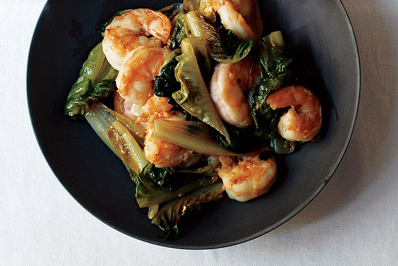 Shrimp-romaine-stir-fry-@EATMYMEMOIR by Annn Landi