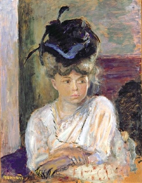 EAT MY MEMOIR - Stories about family & food. Painting by Bonnard